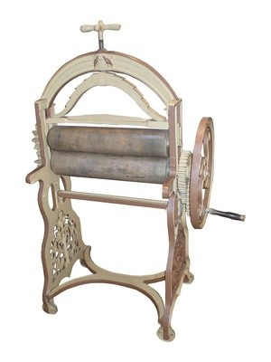 An Antique Washing Mangle.